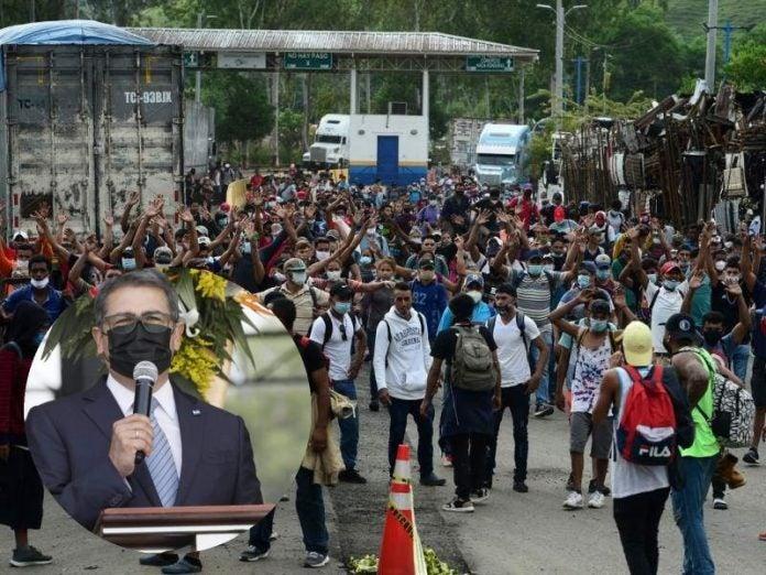JOH sobre caravana migrante