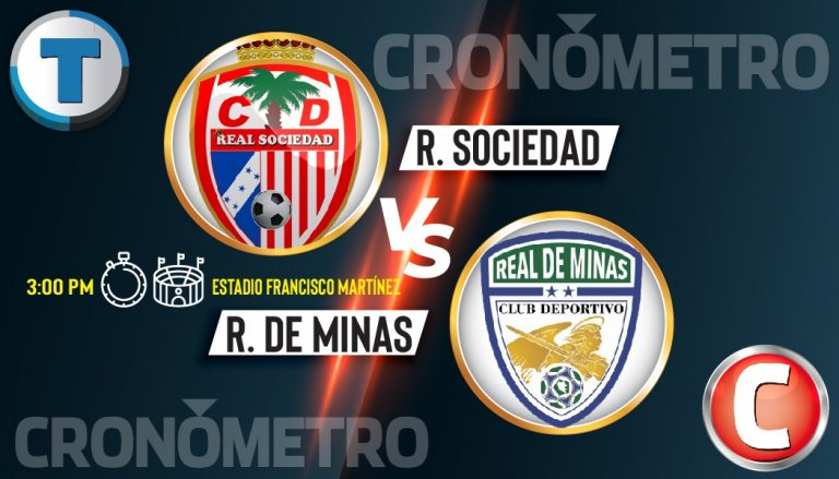 """HOY: Duelo de """"realezas"""" en Tocoa Real Sociedad vs. Real de Minas"""