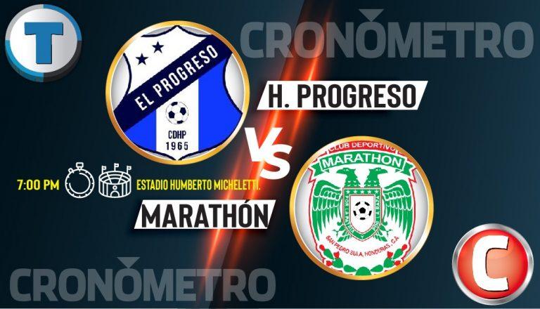 HOY: Honduras Progreso y Marathón le dan cierre a la Jornada 1 en El Progreso