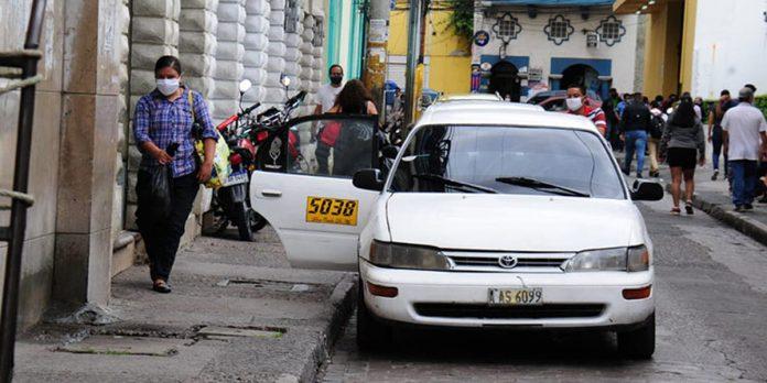 taxistas circulación por dígito