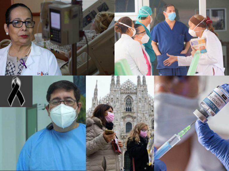 RESUMEN COVID-19: Médicos aseguran que sigue la primera ola; muere voluntario de vacuna