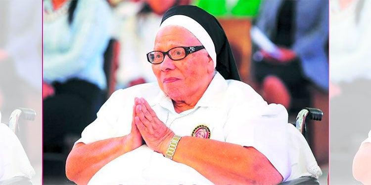 Sor María Rosa se encuentra en delicado estado de salud