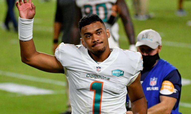 Así fue el tan esperado debut de Tua Tagovailoa; Dolphins fulminaron a los Jets