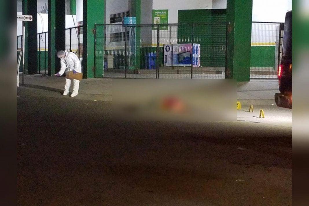 Asesinato en San Pedro Sula.
