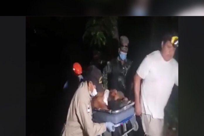 hombre degollado en Choloma