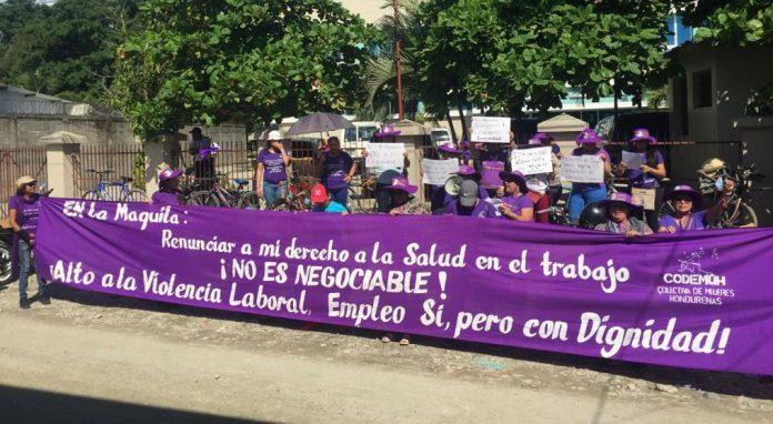 Trabajadoras de maquila denuncian COVID-19