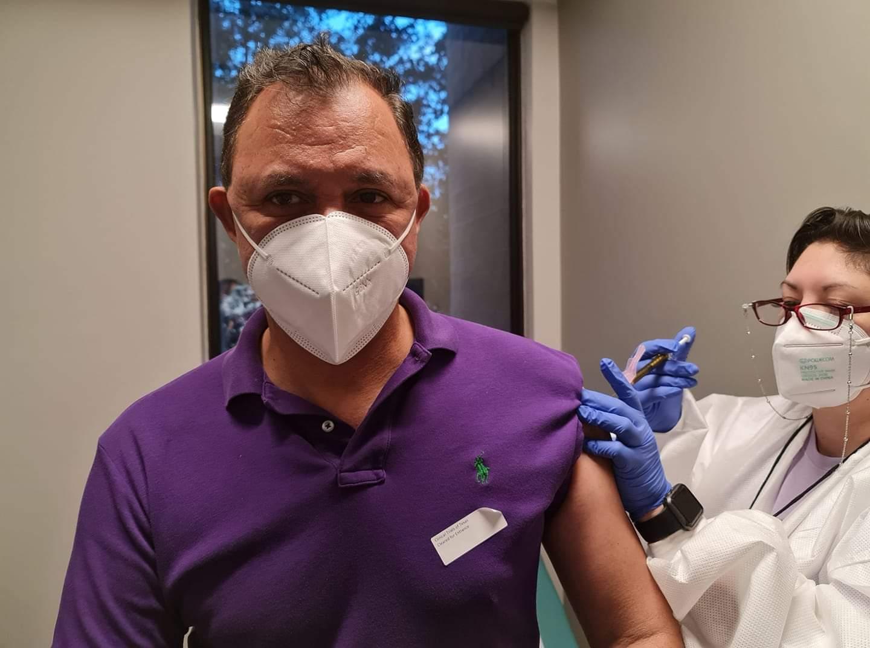 Tony García vacuna