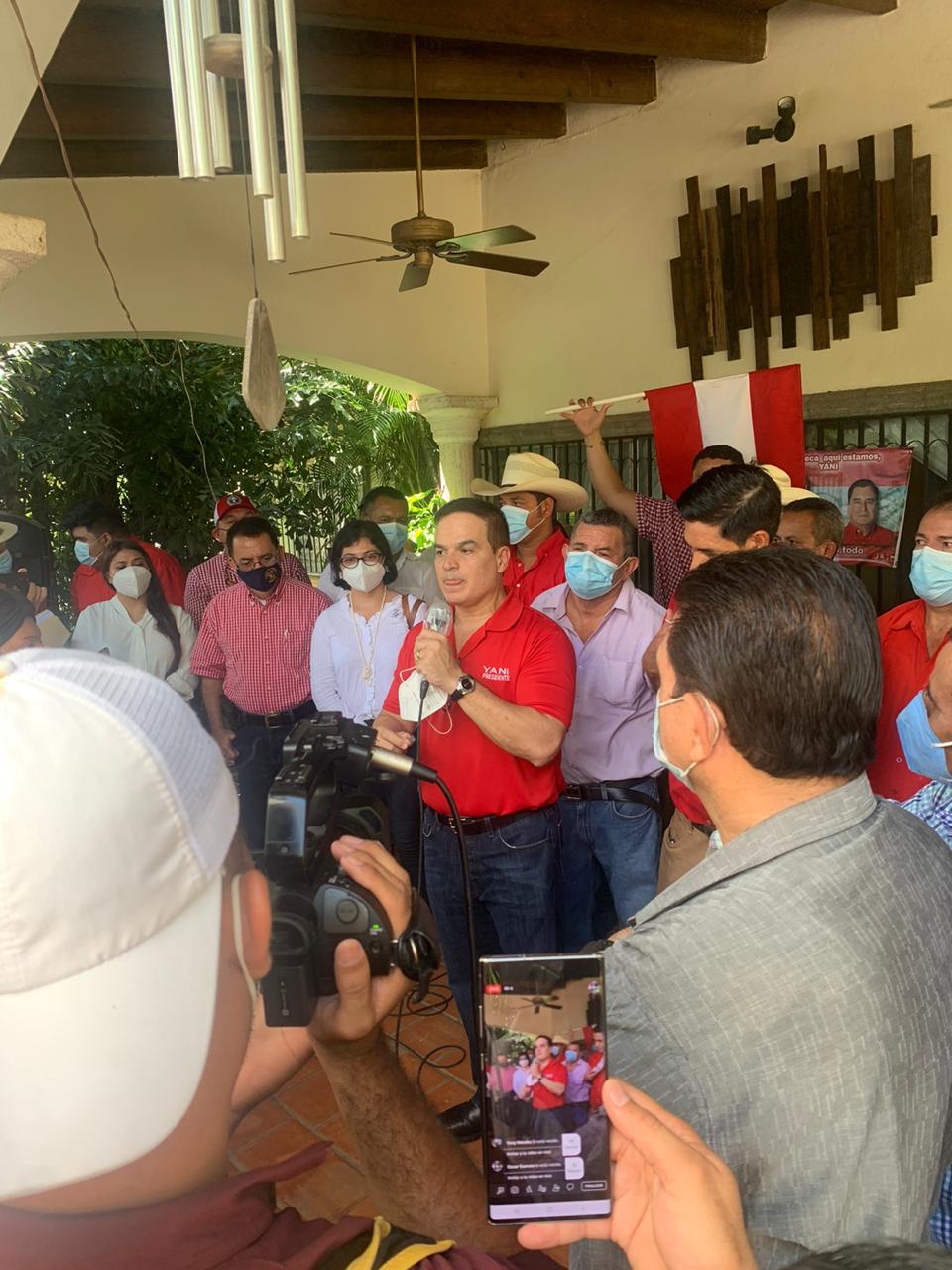 Yani Rosenthal visita Choluteca