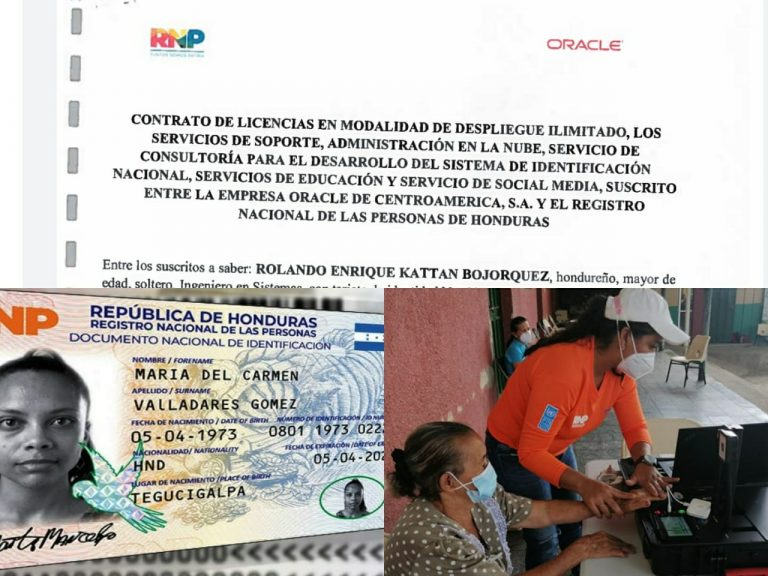 RNP sin credibilidad y datos de hondureños en riesgo: ¡Oracle desaparecida!