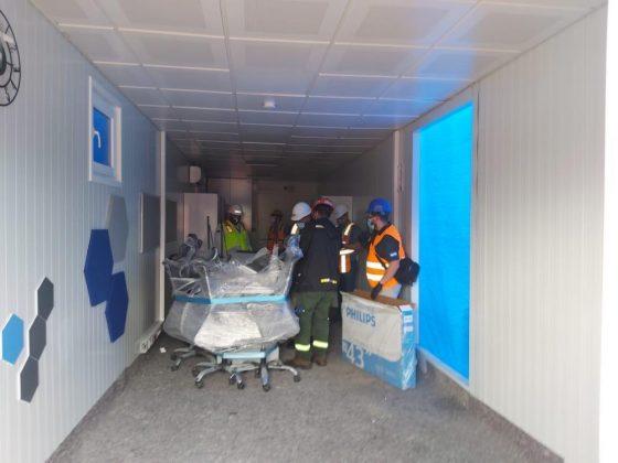 desperfectos hospitales móviles