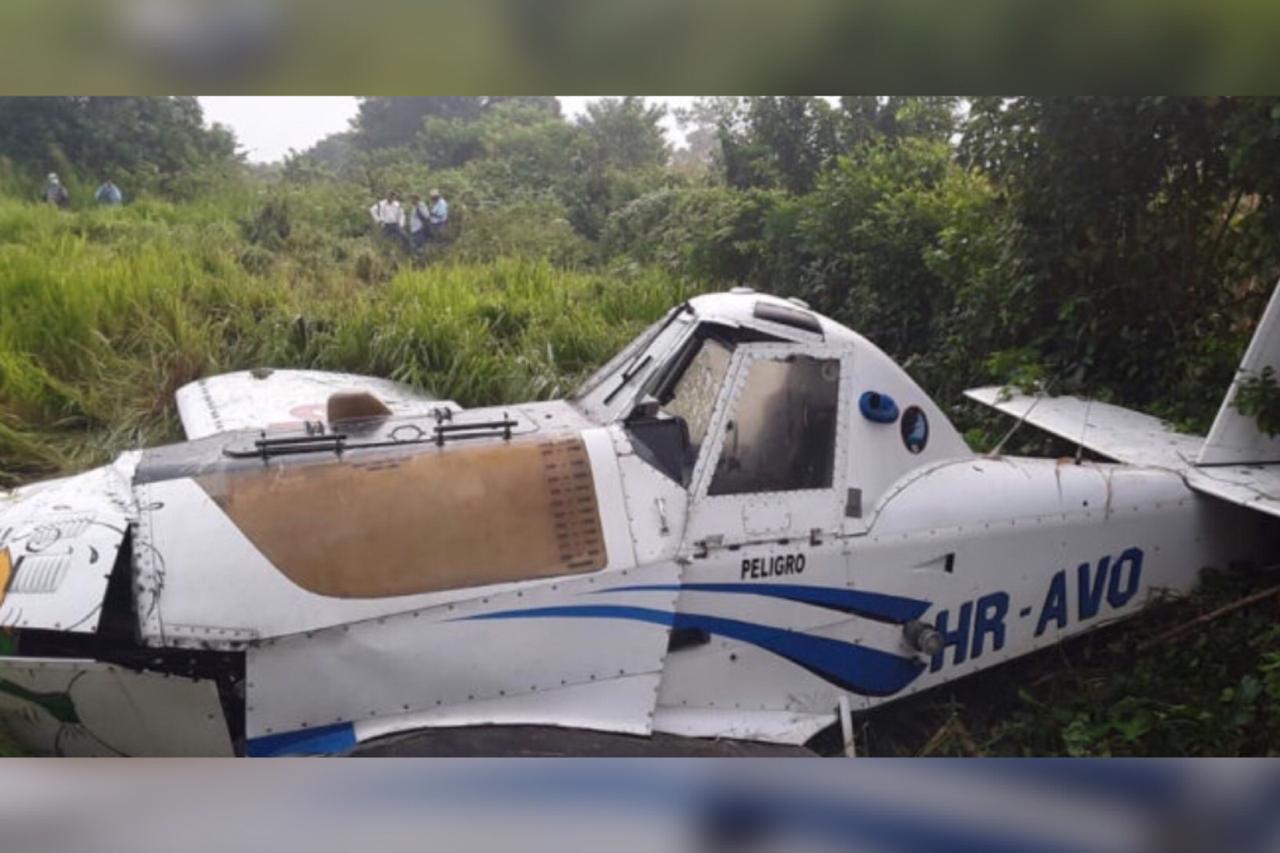 En Colón reportan accidente de una avioneta fumigadora; ya investigan el caso