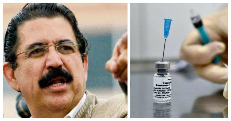 """""""Mel"""" en Honduras: """"No tengo miedo de morir por vacuna rusa"""", asegura"""