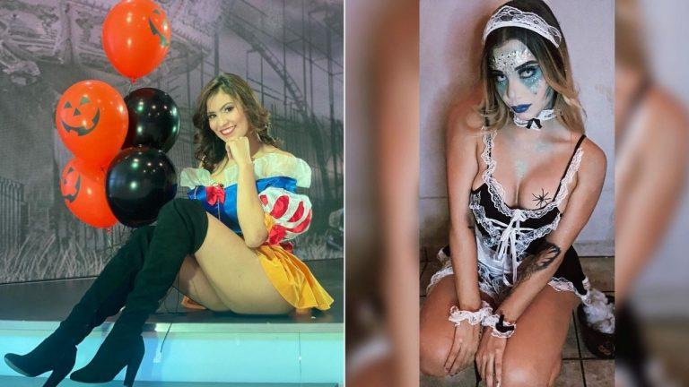 Personajes de la farándula hondureña «cautivan» con sus trajes de «Halloween»