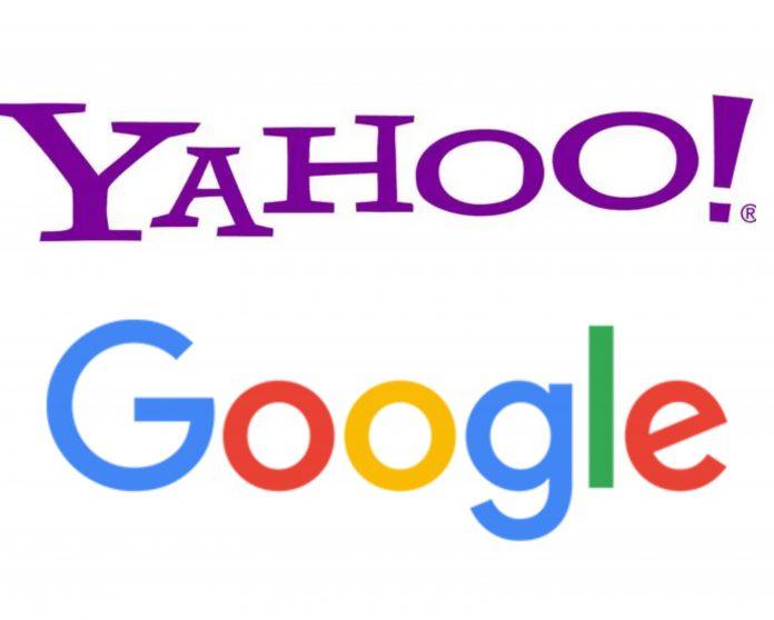 google y Yahoo!