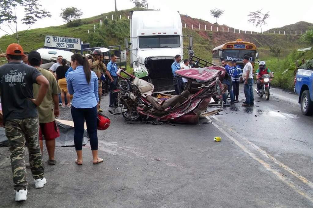 accidentes de tránsito en Honduras