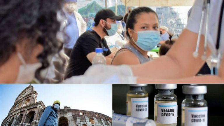 RESUMEN COVID-19: amas de casa hondureñas son las más contagiadas; confinamiento en Italia