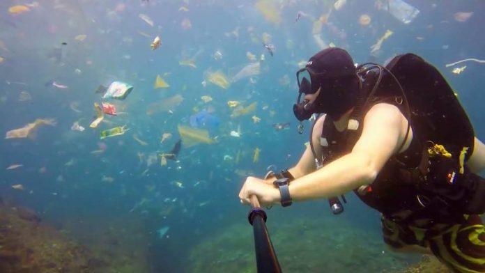 Basura en océanos