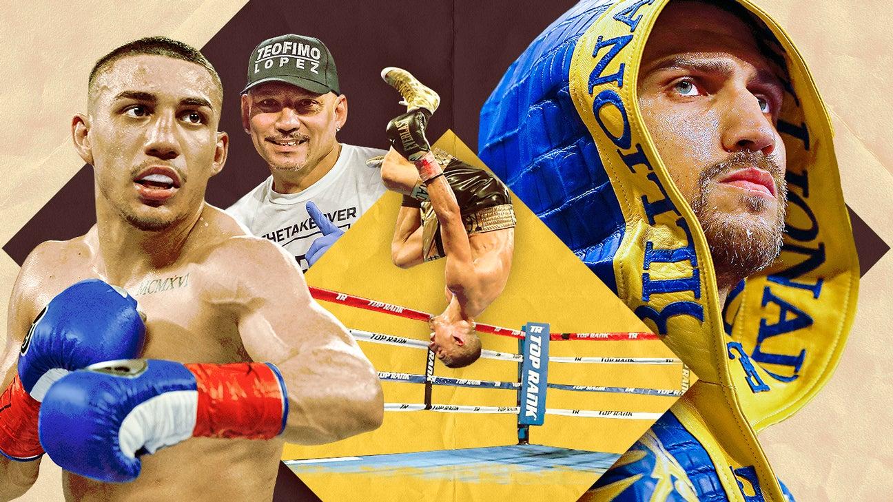 PREVIA: Lo que debes saber de la pelea entre Teófimo López y Vasyl Lomachenko