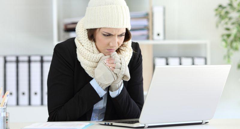 mujeres sienten más frío