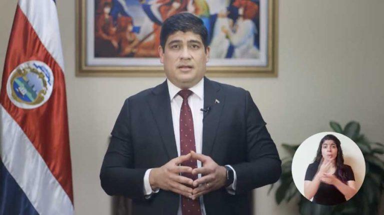 Presidente de Costa Rica convoca a diálogo; pero manifestaciones siguen