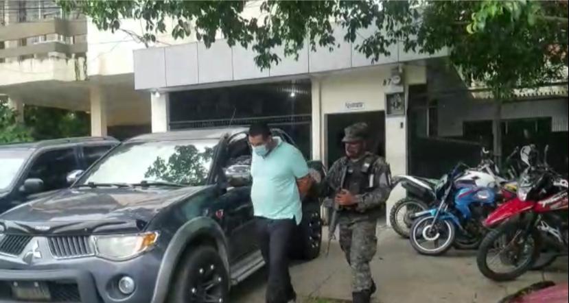 capturan inspector de Policía Nacional