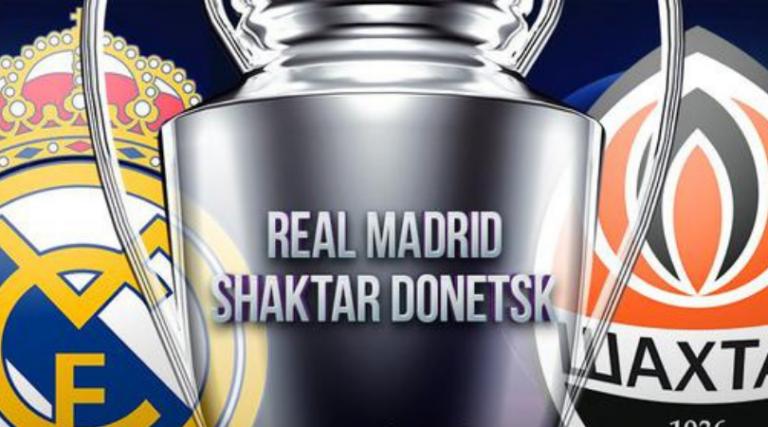 PREVIA: Real Madrid inicia camino en Champions contra Shakhtar