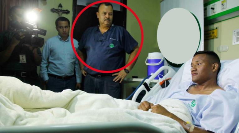 El «doctor de la H», Óscar Benítez sigue mejorando su salud
