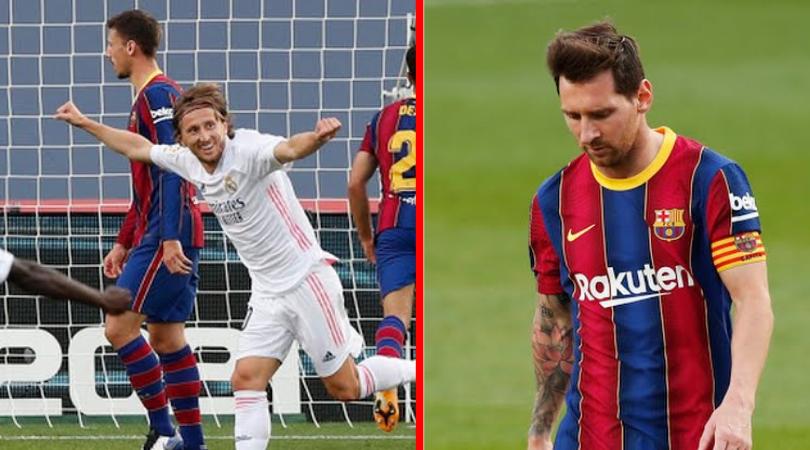 Real Madrid se queda con el clásico de España; el VAR protagonista