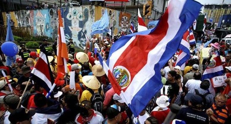 Costa Rica protestas covid-19