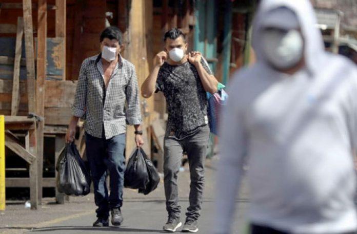 jóvenes covid Honduras