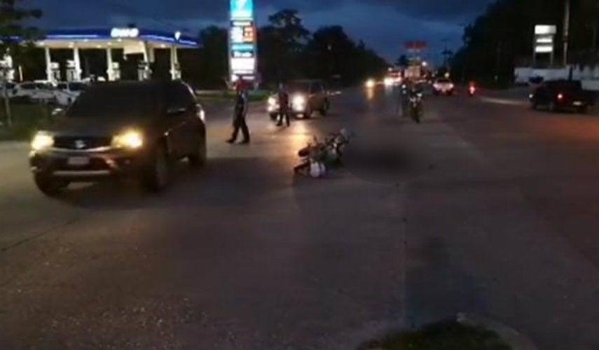 sujetos en motocicleta acribillan a hombre