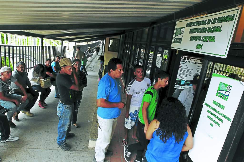 RNP reabre oficinas en Tegucigalpa