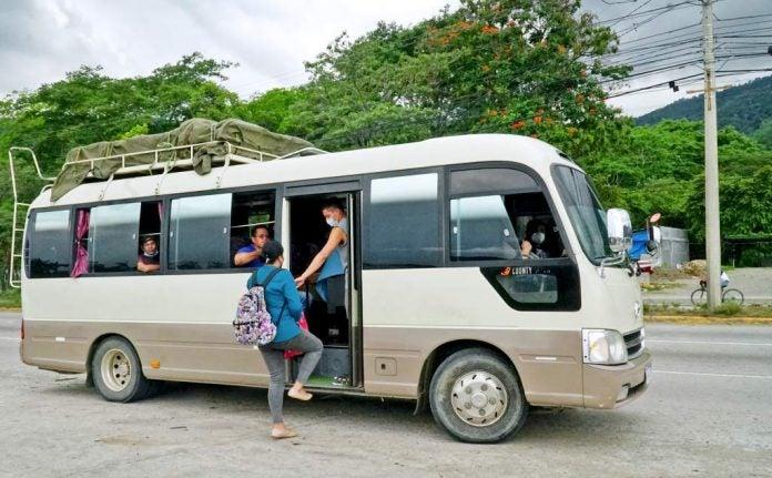 transporte en zona noroccidental