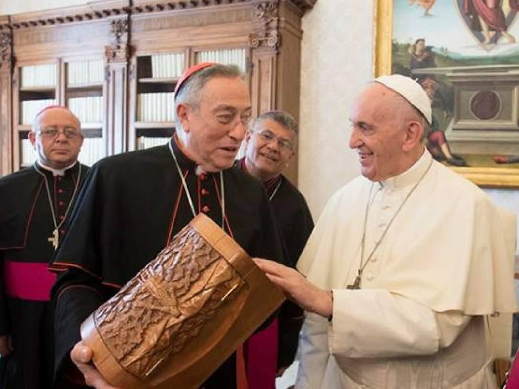 Papa Francisco Óscar Rodríguez