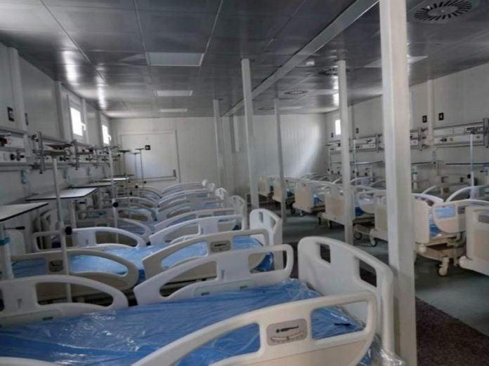 camas hospital móvil SPS