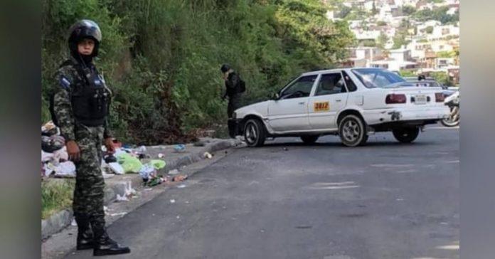 matan taxista en La Cañada