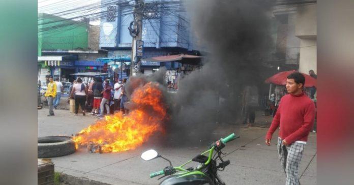 protesta vendedores zonal belén