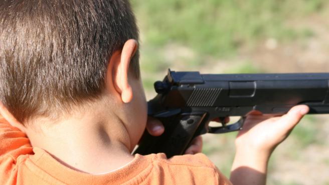 niño se dispara en cumpleaños texas