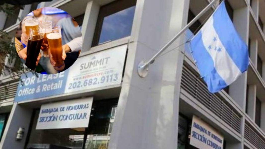 Dos diplomáticos de Honduras fueron detenidos este jueves por conducir a exceso velocidad y en completo estado de ebriedad.