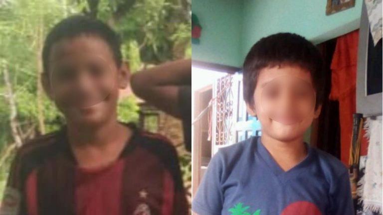 Niños desaparecidos en Choloma se habían escapado, otra vez, de su casa, dice Policía