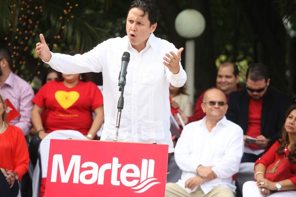 precandidatura Eduardo Martell Partido Liberal