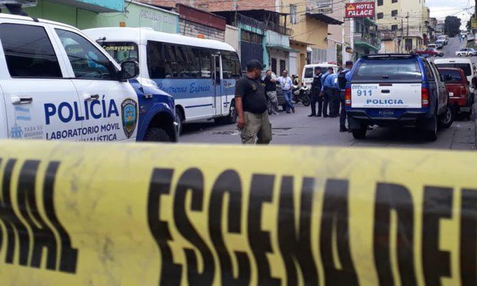 octubre violento ONV Honduras