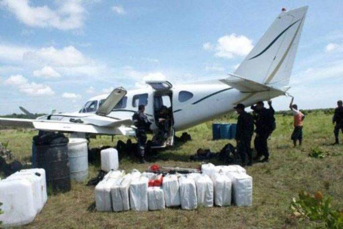 Narcoavionetas interceptadas en Honduras