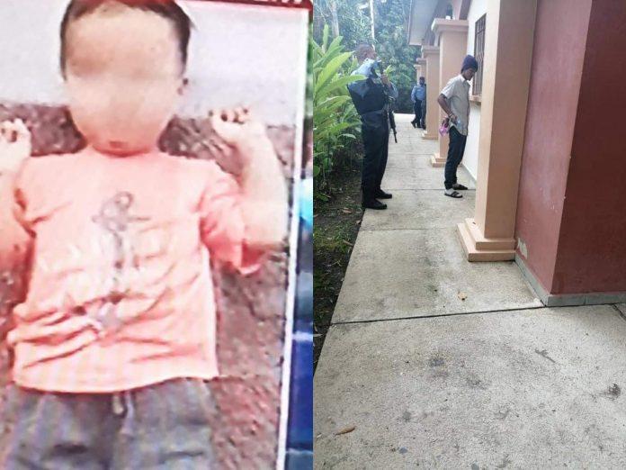 Niño que murió por los golpes de su padre