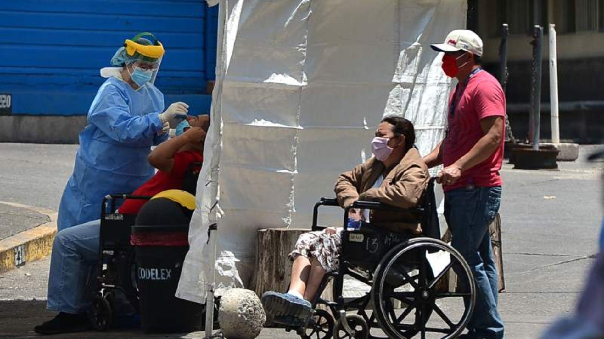 caso de reinfección COVID-19 Honduras