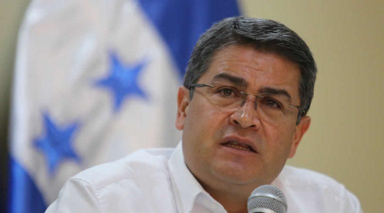 Juan Orlando Hernández da «buenas noticias» para reactivar las mipymes