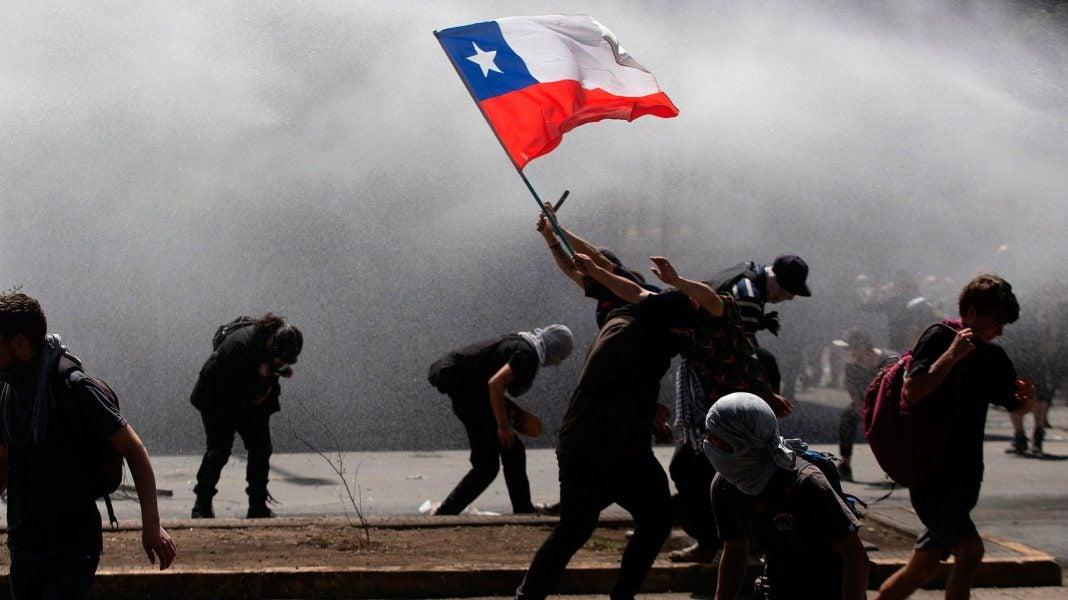 protestas y represión en Chile