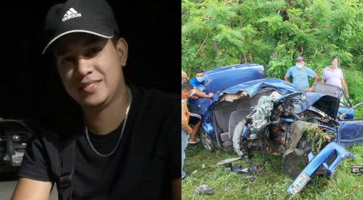 Muere en accidente al regresar del velorio de su esposa