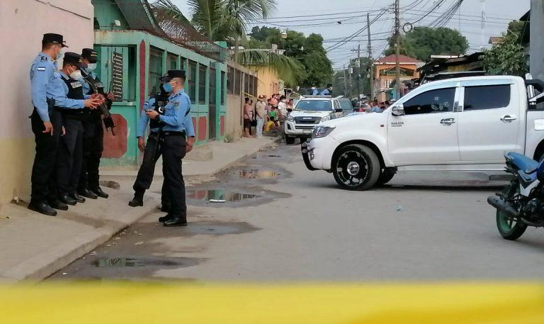 Matan a exinspector de la Policía y su esposa en sector Chamelecón de SPS