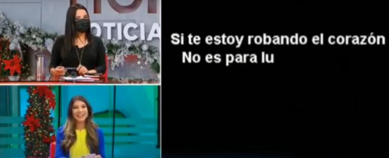 FARÁNDULA – Ingrid Villalobos: ¿A quién dedicó canción durante noticiero?